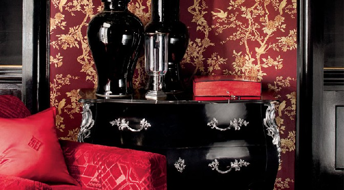 Ralph Lauren Signature Century Club Behang Papier Collectie